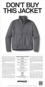Dont Buy This Jacket Patagonia advert