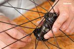 BMX Laufrad einspeichen