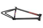 Kink BMX Backwoods Frame in schwarz