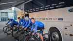 Warm-up am Vortag (Bild: Gazprom-RusVelo)