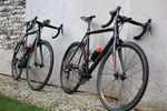 Die zwei Cannondale SuperSix Evo Hi-Mod von Mike Cotty auf seinem 1.000km langen Weg zum Mont Blanc.