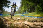 Rachel Atherton... in a class of her own, Mont Sainte Anne 2015.