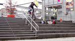 Dann van Wezel zerlegt jedes Rail, das sich ihm in den Weg stellt. In diesem Video tut er das für Stress BMX. Krasse Vorstellung!