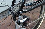 Shimano Dura Ace Di2-Gruppe kommt zum Einsatz. Wiggins Bike wurde mit einer 11-25-Kassette optimiert.