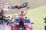 Tim Wellens gewinnt den ersten Etappensieg seiner Karriere. Foto: Sirotti