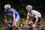 Philip Gilbert und Alaphilippe schafften es in die große Fluchtgruppe. Leider nahm die Tour de France für den Belgier nach einem schweren Sturz ein frühzeitiges Ende. (Foto: © ASO/ Pauline Ballet)