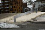 Es ist zwar schon ein paar Jährchen her, dass Kilian Roth diesen Icepickgrind in Scharnhausen bei Stuttgart im Heft hatten, an der Heftigkeit der Aktion ändert das aber nichts; Foto: Andy Schwarzkopf