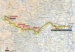 Nach einem flachen Beginn folgen bei der 14. Etappe ganze vier Bergwertungen.