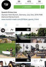 Instagram Profil Swatch Prime Line