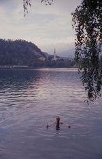 Baden in diesem See kostet 200 EUR Strafe