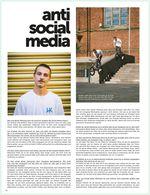 Interview mit Jannik Pertz in der Sonderausgabe zum 25-jährigen Jubiläum von freedombmx