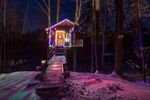 Amazing Mountain Shack Cabin Airbnb Travel Treehouse USA 1