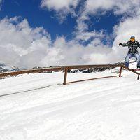mölltaler gletscher, snowpark
