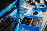 Das Unterrohr des Transition Bikes TR500 Rahmens