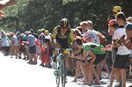 Primos Roglic (LottoNL-Jumbo) war der erste Fahrer der Favoriten, der 18 Minuten nach Farir ins Ziel kam. (Foto: Sirotti)