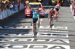 Cort Nielsen (Astana) gewinnt die 15. Etappe der 105. Tour de France in Carcassonne. (Foto: Sirotti)