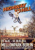 Pflichttermin! Der Highway to Hill 2016 findet vom 6.-8. Mai im Berliner Mellowpark statt. Hier erfährst du mehr.