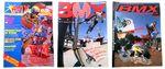 Die Vorläufermagazine von freedombmx (v.l.n.r.): BMX Speed, Monster BMX und Freestyle BMX