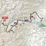 Die Etappe spielt sich in der Metropolitanstadt Turin, im Nordwesten Italiens ab.