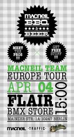 Flair BMX X MacNeil X Traffic Distribution BBQ