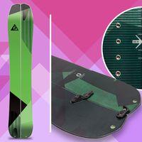 nitro doppleganger, splitboard, snowboard