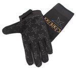 Die Handschuhe sind aus einem robusten Material und selbstverständlich kann man damit Touchscreens bedienen
