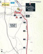 Die Zieleinfahrt der 10. Etape des Giro d