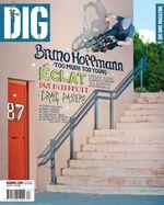 Bruno Hoffmann auf dem Cover des Dig Magazins, Ausgabe 87, März/April 2012