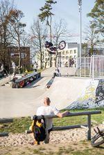 Der Skatepark in Ludwigsfelde ist jetzt 200 qm größer; Foto: Michael Förster