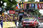 9. Etappe - Tony Martin (Omega Pharma-QuickStep) dominiert als Solist die Etappe von Gerardmer nach Mulhouse und macht den 5. deutschen Sieg klar. (Foto: Sirotti)
