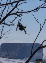 Dennis Ranalter up in the Air. credit: David Hofer