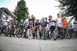Über 500 Jahre BMX-Geschichte auf einem Haufen: die Teilnehmer des Oldschooljams