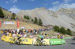 Chris Froome verteidigt erfolgreich auf dem Izoard das gelbe Trikot. (Foto: Sirotti)