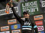 2016 siegte Wout Poels vom Team Sky bei Liege–Bastogne–Liege. Foto: ASO/G.Demouveaux