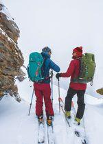 Die Rise Serie: Der perfekte Skirucksack für eine Eintagestour. credit: Stefan Neuhauser