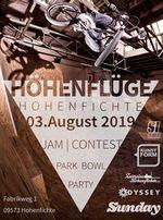Am 3. August 2019 geht der legendäre Höhenflüge-Contest in die nächste Runde. Hier gibt es alle Infos zum Spektakel im und um The Last Hole in Hohenfichte.