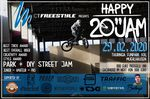 """CT Freestyle BMX und der Thuringia Funpark XXL laden am 29 Februar 2020 zum ersten Happy 20"""" Jam überhaupt ein. Hier erfährst du mehr."""