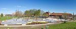 Idyllisch gelegen: Der neue Skatepark von Camp Ramps und DSGN Concepts im Otto-Dullenkopf-Park von Karlsruhe