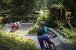 Trek Runcatrail in Flims Foto: Gaudenz Danuser