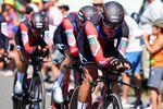 BMC Racing Team bewies mit einer starken Leistung und dem Etappensieg auf der 3. Etappe der 105. Tour de France, dass sie als Mannschaft das Zeitfahren beherrschen. (Foto: © ASO/ Pauline Ballet)