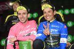 Chaves und Yates feiern ihren gemeinsamen Sieg, die Freude ist ihnen ins Gesicht geschrieben. (Foto: Sirotti)