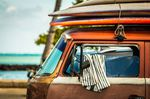 used surfboards, gebrauchte surfbretter, bulli, bus