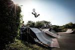 Florian Dean, Flipwhip im Skatepark Wendelstein