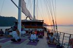 Hillside Beach Club Wellness Retreat Turkey Yoga Boat