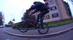 Adrian Kölz und Niklas Wille von Gangbang Bikes haben für das Bangers – Freestyle Film Festival 2014 in Emmendingen die Line des Todes gefilmt.