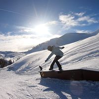 Flachauwinkl, Snowboarden, Wochenende