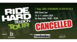 #fckcorona: Aufgrund steigender Infektionszahlen muss der Stopp der Ride Hard Session Tour 2020 auf der Expo du Vélo in Straßburg leider abgesagt werden.