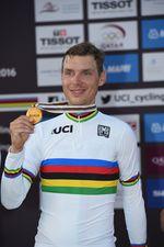 Der regierende Weltmeister Tony Martin machte seinen Unmut über die Strecke und Entscheidungen bei den UCI Weltmeisterschaften in Bergen Luft (Foto: Sirotti)