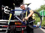 Faustino Muñoz Cambron ist der persönliche Mechaniker des Vuelta a Espana Gewinners 2014. Seit Beginn von Alberto Contador