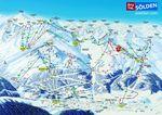 Pistenplan Snowpark Sölden
